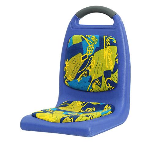 吹塑椅JS023带软垫厂家